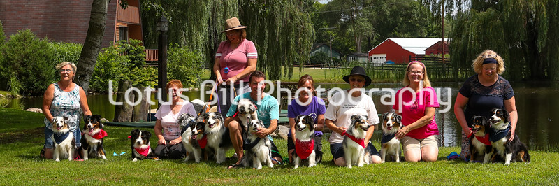 Group Photos UKC July 2019 Bangor MI Event CB