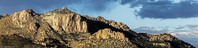 Main Climbing Face of Granite Mountain