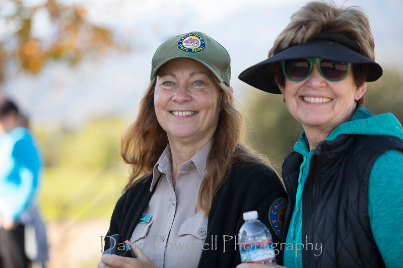 New Years Day Community Hike to Rincon 1-1-2017  State Park hike leader Leanne Roth and Jane Cravens.jpg