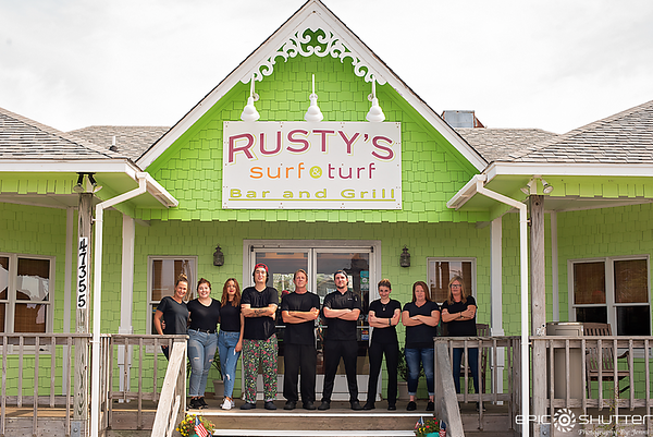 August 6, 2019, Rusty's Surf and Turf, Buxton, North Carolina, Fine Dining, Hatteras Island Restaurants, Cape Hatteras National Seashore, Outer Banks Photographers, Cape Hatteras Photographers, Local Island Business, Rusty Midgett