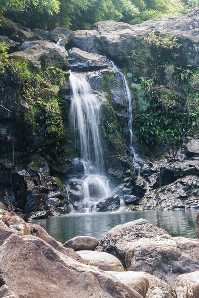 waterfall in the Bamboo Jungle, Maui