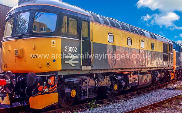 Class 33 Diesel Locomotives