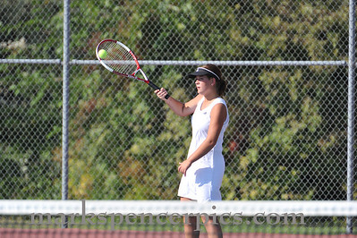 Tennis Springville Girls vs Uintah 9-21-2010