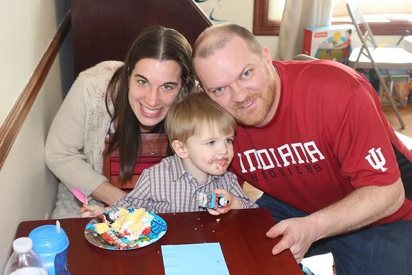 Shawn Thomas - Second Birthday Party