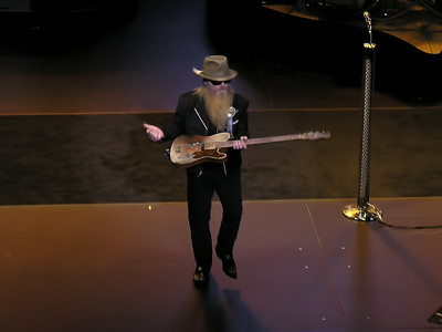 ZZ Top at the NAC Ottawa 2012