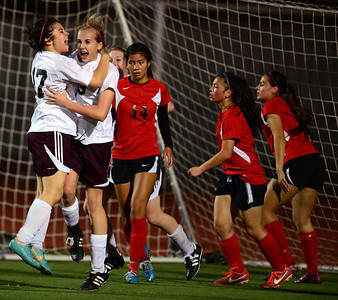 Photos of Liberty and James Logan girls soccer match up in first round of North Coast Section Division 1 playoffs