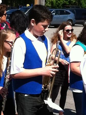 Pollard Students at Memorial Day