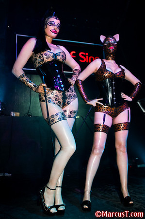 October 2010 - Rubber 55 Fashion Show - Festival of Sins