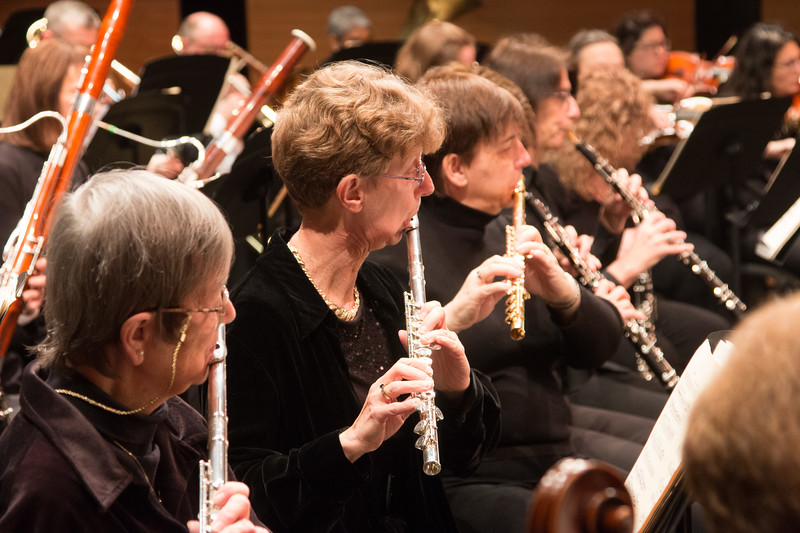 Barbara Stuckey, Midge Carlton, Colleen Darkow -- Symphony of the Potomac, January 29, 2017