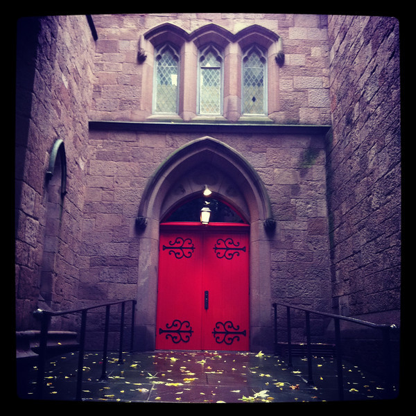 An old church in Brooklyn Heights
