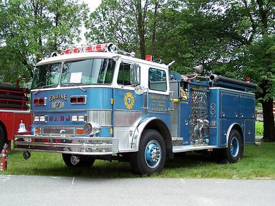 Rhode Island Antique Fire Apparatus Society Muster, Johnston, RI 6/13/10