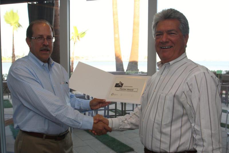2009 Pitcher Award Winner - Cosmo