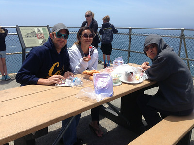 2014 (6/15) Father's day (Point Reyes and Sausalito)