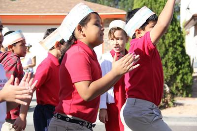 Benito Martinez Students Celebrate Veterans Day
