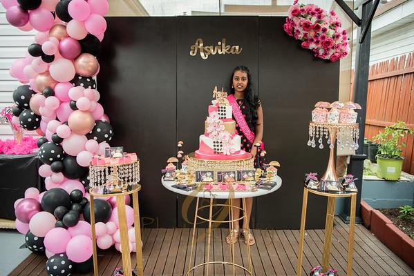 Asvika's 10th Birthday