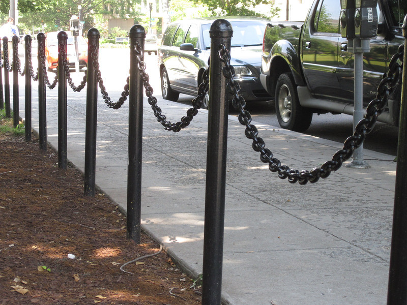 Chain sags