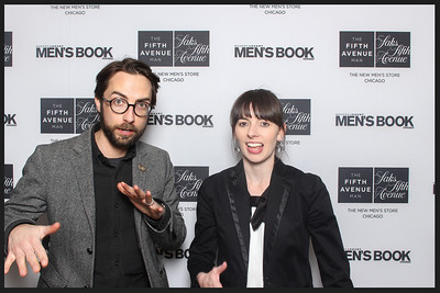 the fifth avenue man launch party - stills