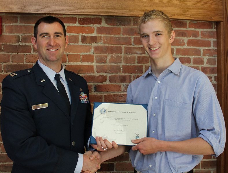 2014 Alistair Chase to Air Force Academy