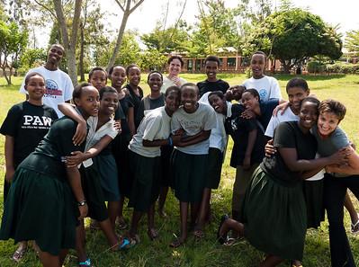 Rwanda RRI Nyamata and FAWE Girls