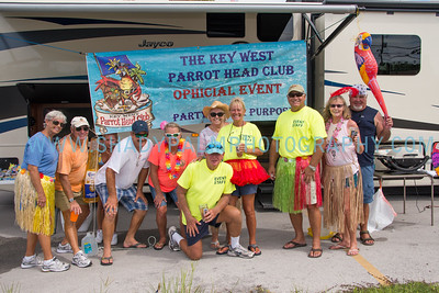 Key West Parrot Head Club- Tour de Keys, Aid Station 6