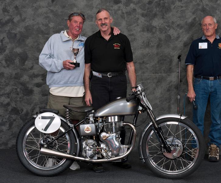 Gary Roper, 1951 Velocette MAC. Winner Best Velocette.