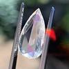 3.33ct Pear Shaped Rose Cut Diamond 15