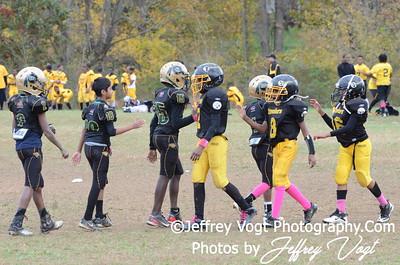 10-20-2012 Montgomery Village Sports Association Ponies vs KML Steelers, Photos by Jeffrey Vogt Photography