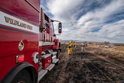 Douglas County Brush Fire