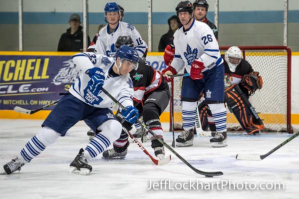 Toronto Maple Leaf/Mitchell Hawks Alumni Game