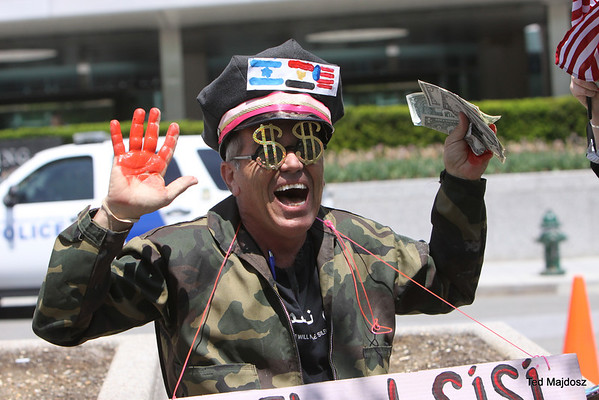 Protest at State Department to Release Egyptian-American Mohamed Soltan and Stop US Military Aid to Egypt 5/6/14