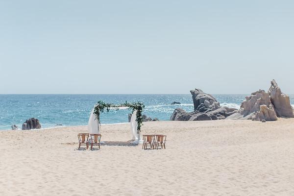 Pedregal Beach - Michelle and Randy
