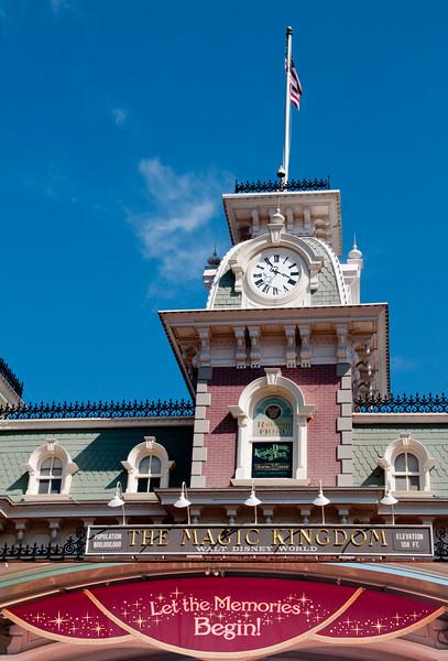 Disney Magic Kingdom - March 16, 2011