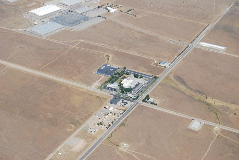 Small aviation museum near Palmdale
