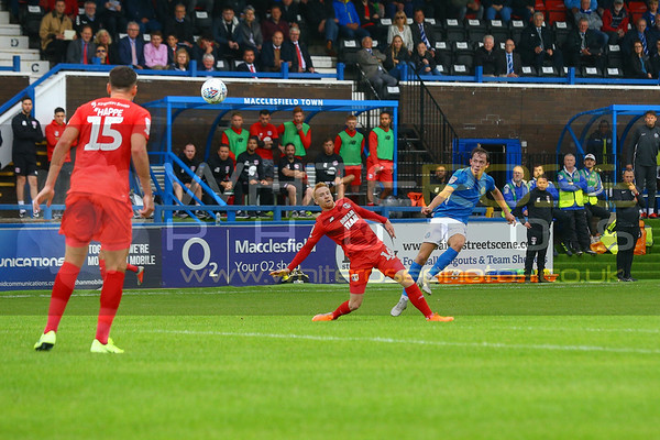 Macclesfield Town v Leyton Orient 10 - 08 - 19