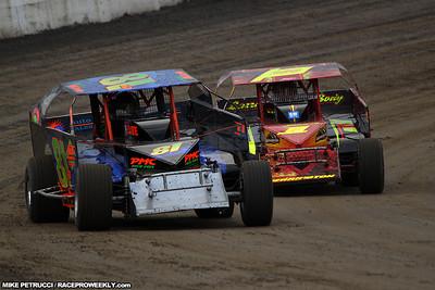 Mike Petrucci - Mr. DIRT Track USA @ Lebanon Valley 9/1/2011