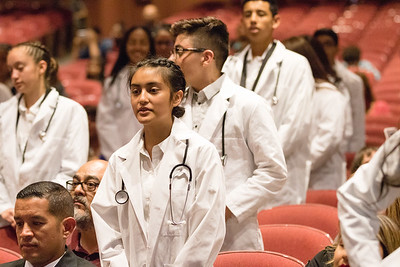 Socorro High School HPA White Coat Ceremony