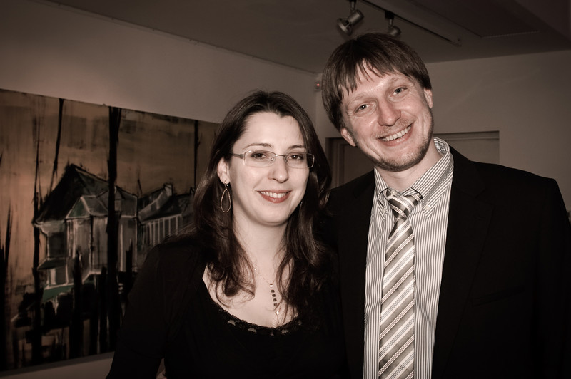 Vika and David Rabkin
