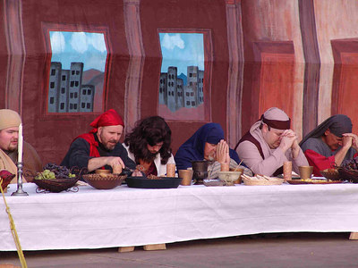 "Oak Grove Road to Calvary, ""Last Supper"""