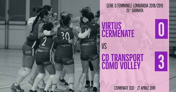 LOM-Df: 25^ Virtus Cermenate - Cd Transport Como Volley
