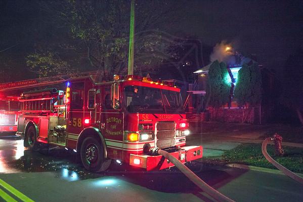 Detroit, MI - Box Alarm - 4367 W. Philadelphia St. - November 1, 2012