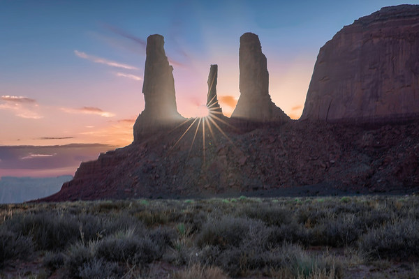 Monument Valley - different views
