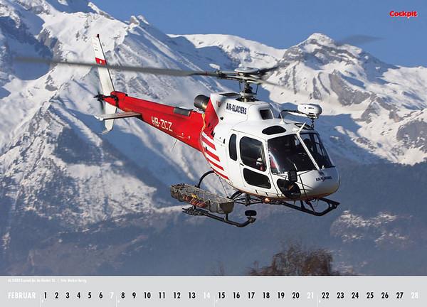 Cockpit Calendar – Cockpit Feb 2010 - HB-ZCZ