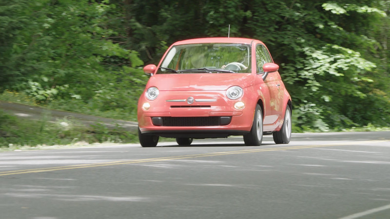 2017 FIAT 500 Pop Hatchback Driving Reel