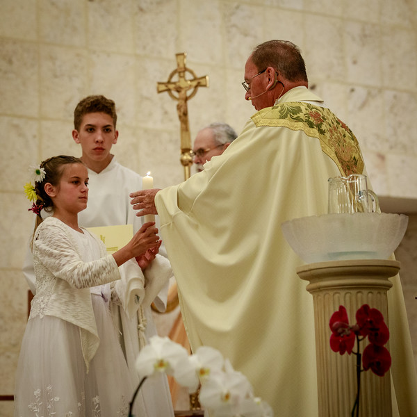 2018 Easter Vigil at St Brendan