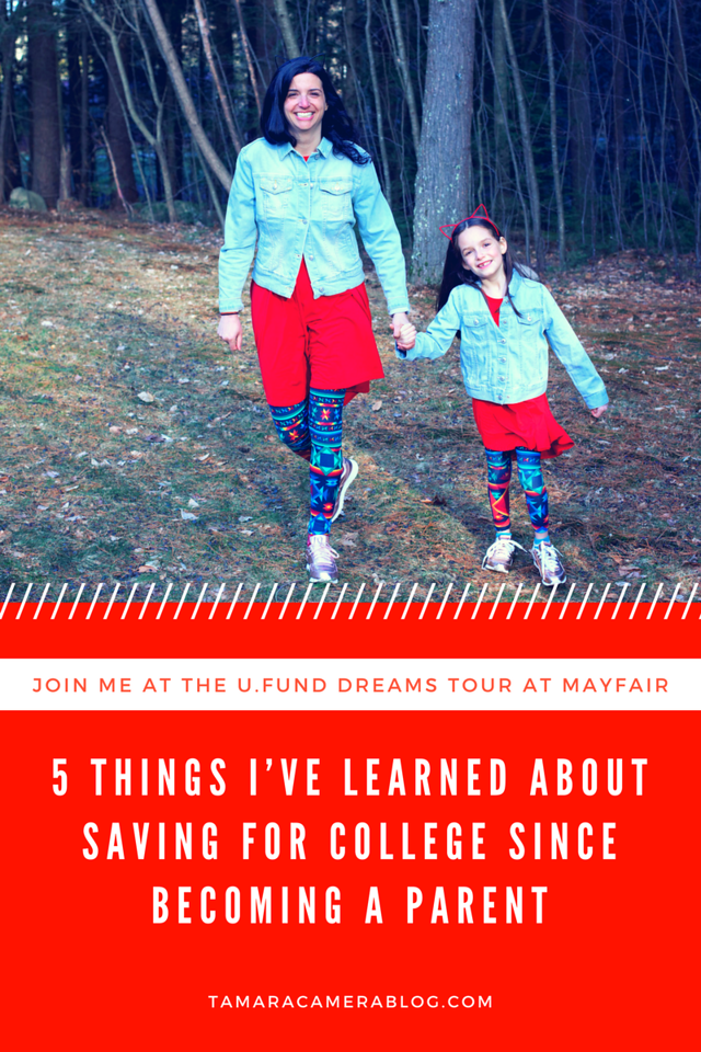 What is one thing you've learned about saving for college since becoming a parent? I've found that everything changed, once they were born, and it's a rewarding journey. I'm still learning day by day, but here are the 5 things I've learned about saving for college since becoming a parent! #finances #UFundDreams #ad