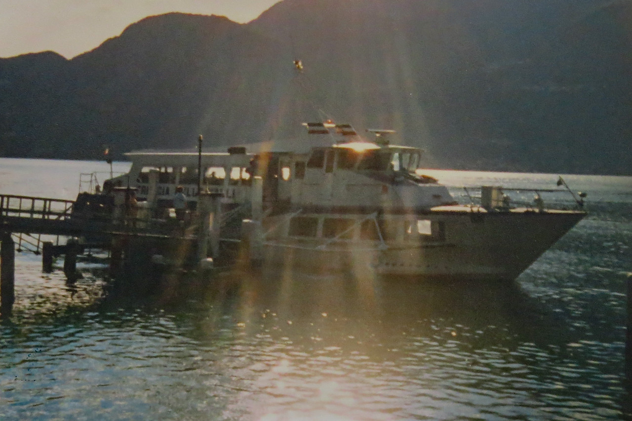 Lago di Como. Vleugelboot ferry