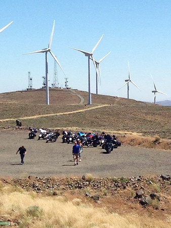 Wild Horse Wind Farm Ride