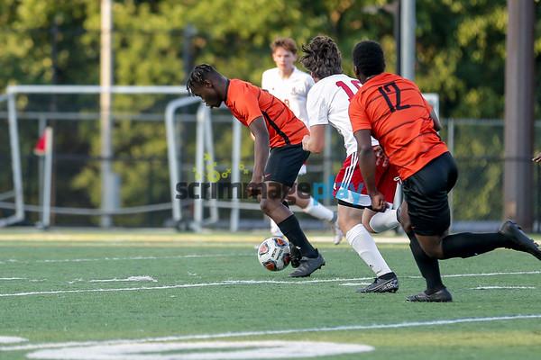 Charlottesville boys soccer beats LCA 2021