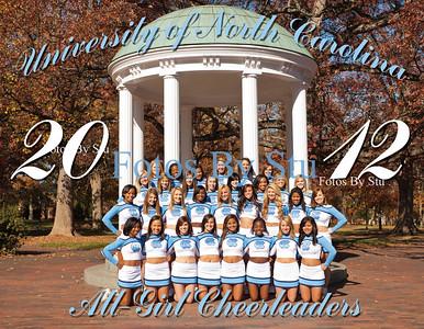 UNC Cheerleading team