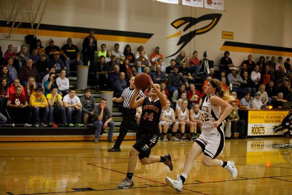 Eddyville Girls Basketball 2-18-14